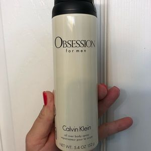 Men's obsession all over body spray- 3 pack